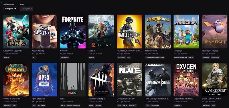 twitch browse games