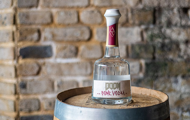 Doom-Bone-Vodka barrel