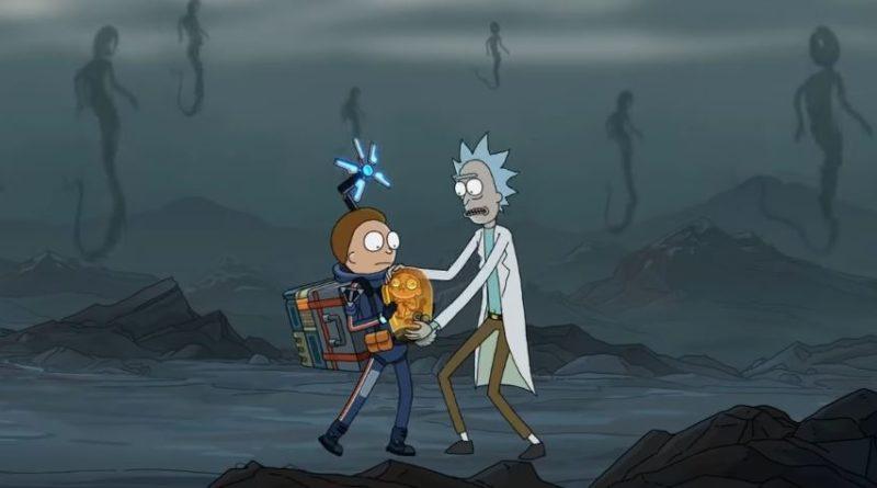Rick and Morty and Kojima