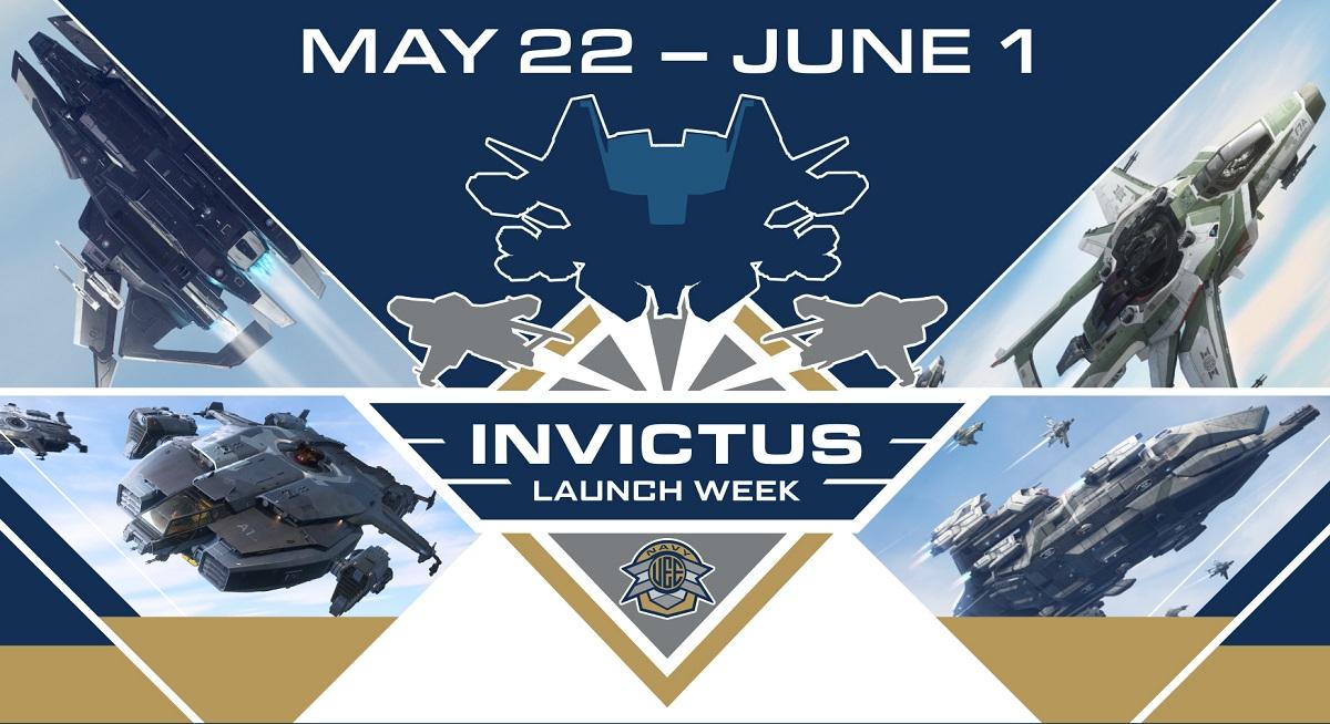 starr citizen invictus launch week poster