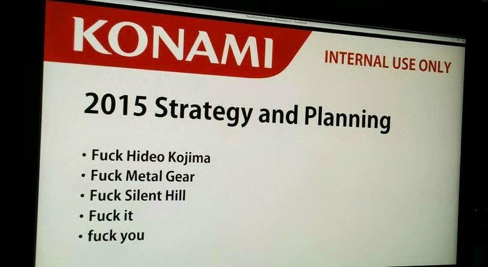 Konami 2015 strategy