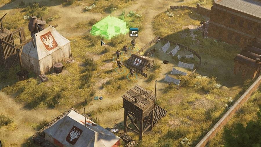 iron harvest pl camp