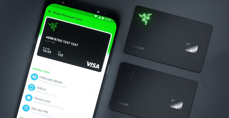 Razer card visa pay app